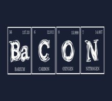 Redbubble Periodic Table Bacon Tee by raineOn