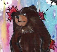 Bearzilla Sticker