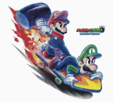 Mario and Luigi: Dream Team Jet-Board Bash by TransSilver