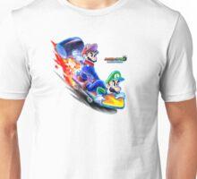 Mario and Luigi: Dream Team Jet-Board Bash Unisex T-Shirt