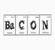 Redbubble Bacon Elements Tee by raineOn