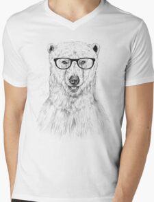 Geek bear Mens V-Neck T-Shirt