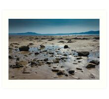 Buncrana Beach, Co Donegal Art Print