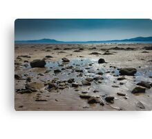 Buncrana Beach, Co Donegal Canvas Print
