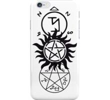 Supernatural Symbols iPhone Case/Skin