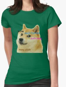 Doge T-Shirt Womens Fitted T-Shirt