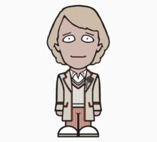 The Fifth Doctor (sticker) by redscharlach