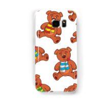 teddy bear pattern Samsung Galaxy Case/Skin