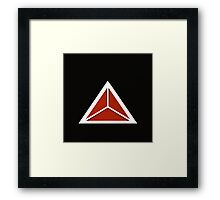 Simplistic Tri-Tee Framed Print