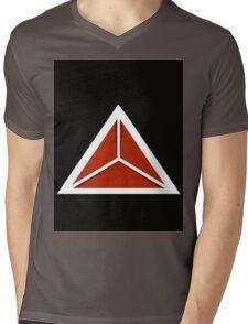 Simplistic Tri-Tee Mens V-Neck T-Shirt