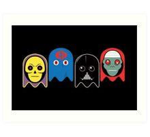 Pac man - Villians Art Print