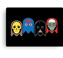 Pac man - Villians Canvas Print