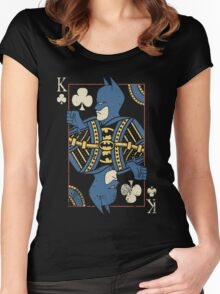Justice Royalty - King of Night Women's Fitted Scoop T-Shirt