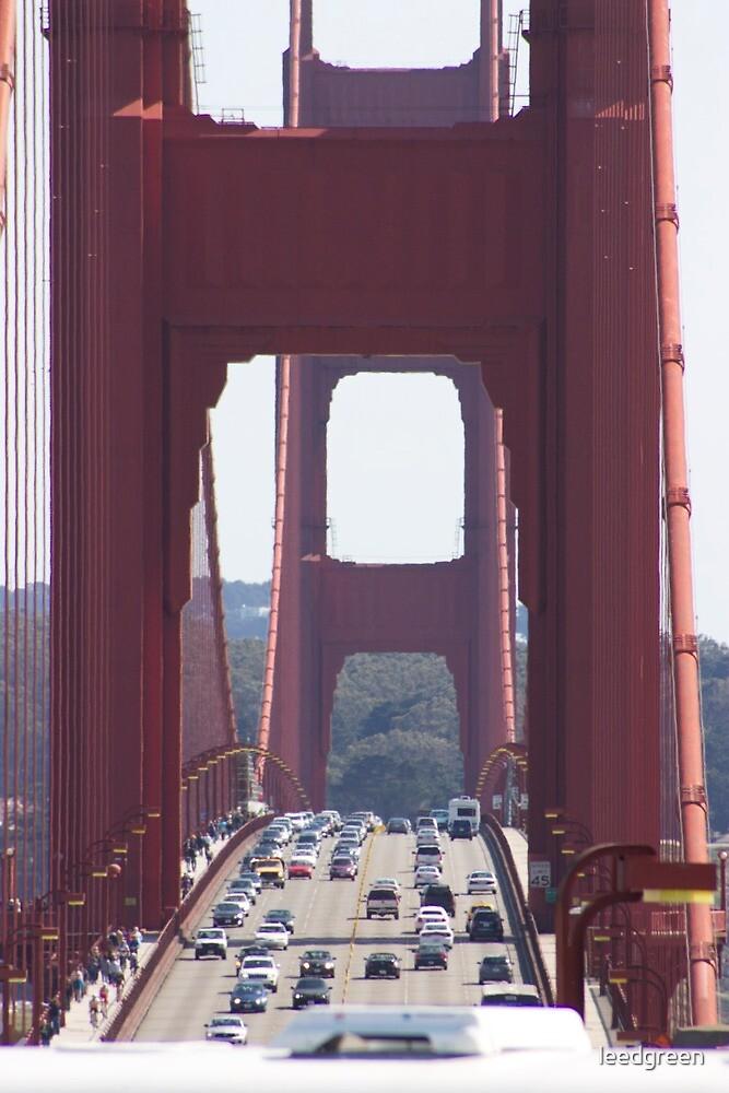 Golden Gate Bridge - San Francisco by leedgreen