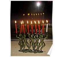 Last day of Hannukah Poster