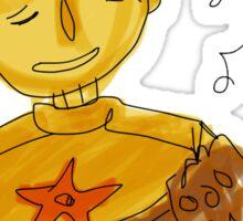 singin' boy sticker! Sticker