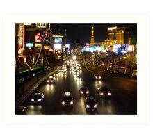 The Strip, Las Vegas Art Print