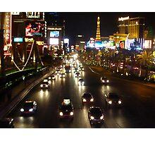 The Strip, Las Vegas Photographic Print