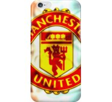 manchester united fc red devils 002 iPhone Case/Skin