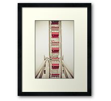 Bucket Seats Framed Print