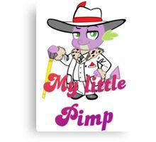 Spike the pimp Canvas Print