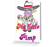 Spike the pimp Greeting Card
