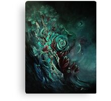 The Perils Of Night Canvas Print