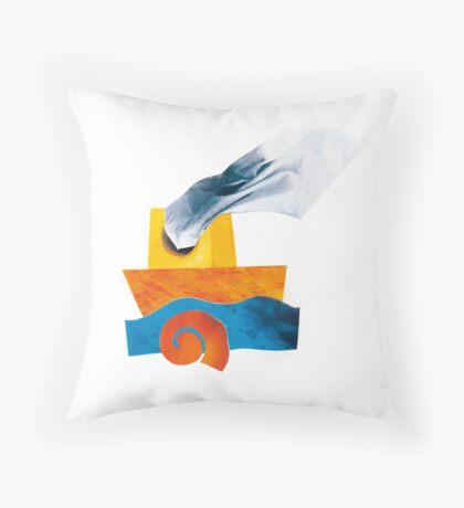 Made of strength Throw Pillow