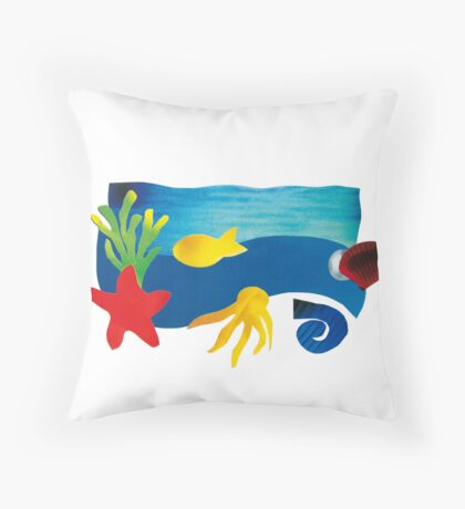 Made of variety Throw Pillow