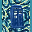 Tardis + Background by awesomegerog