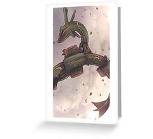 Rayquaza | レックウザ Greeting Card