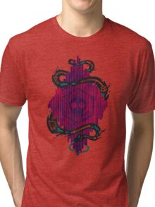 Death Crystal Tri-blend T-Shirt