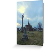 Two Spires Greeting Card