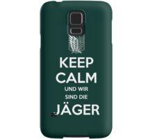Keep Calm Und Wir Sin Die Jäger (Scouting Legion) Samsung Galaxy Case/Skin