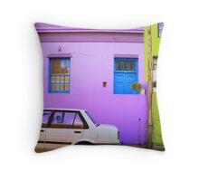 Cape Town Malay Quarter Throw Pillow