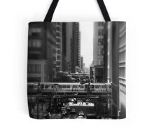Chicago Street and The Loop Tote Bag