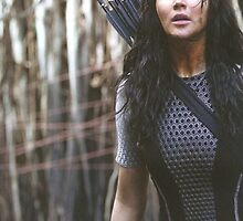Katniss Everdeen The Hunger Games by itsythepixie