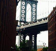 Manhattan Bridge by Alessandra  Albino