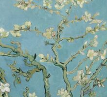 Almond blossom - Vincent Van Gogh  Impressionism  Famous Paintings Sticker