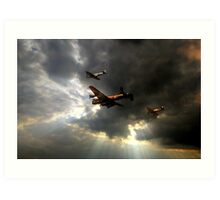 The Royal Air Force Battle of Britain Memorial Flight  Art Print
