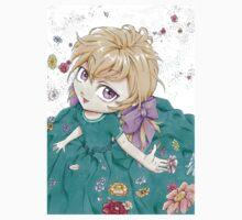 Petite fille en fleur Kids Tee