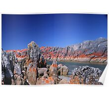 Red Rock - Blue Sky Poster