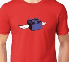 Flying Lego Unisex T-Shirt