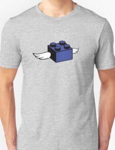 Flying Lego Unisex T-Shirt