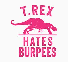 T Rex Hates Burpees Men's Baseball ¾ T-Shirt