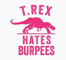T Rex Hates Burpees Men's Baseball ¾ T-Shirt