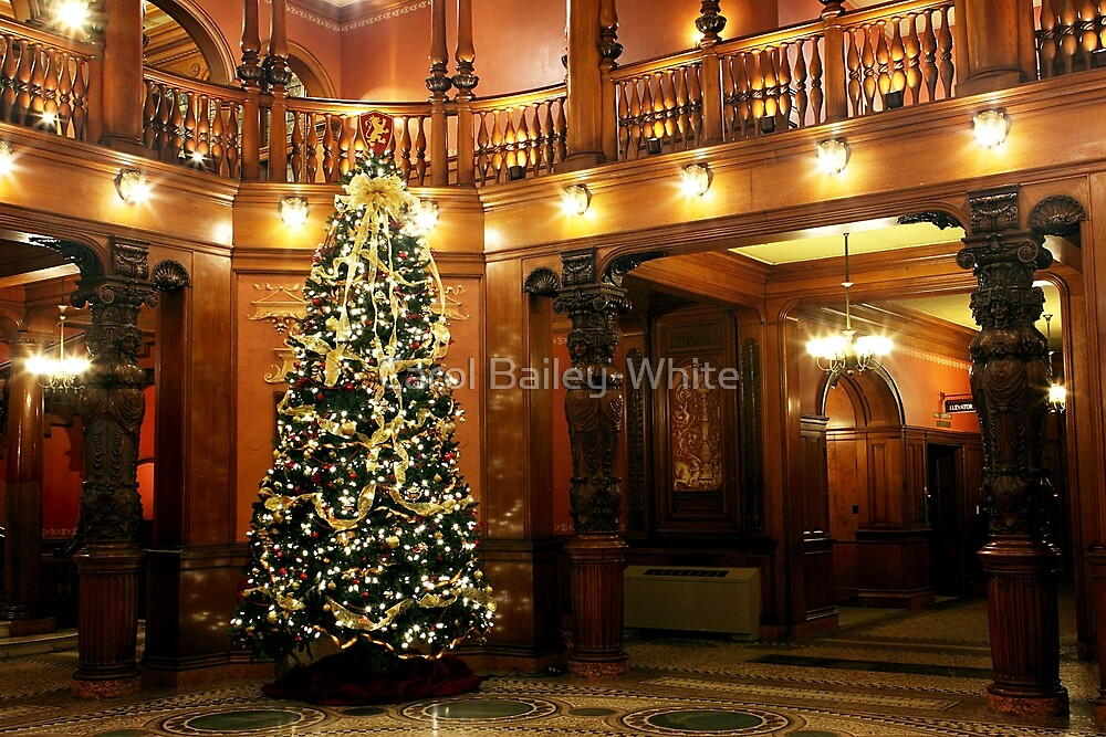 Christmas at Flagler College by Carol Bailey-White
