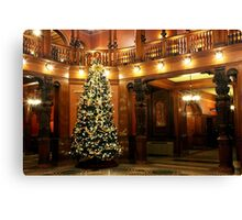 Christmas at Flagler College Canvas Print