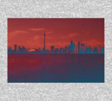 CN Tower Skyline One Piece - Long Sleeve