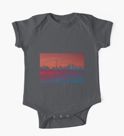 CN Tower Skyline One Piece - Short Sleeve